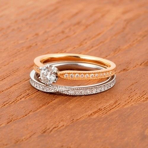 ラブボンドの結婚指輪をお作り頂きました。