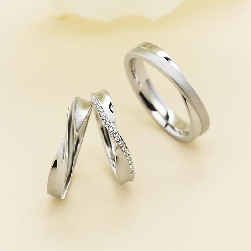 マリアージュの結婚指輪「エルヴェ」をお作りいただきましたS様・A様