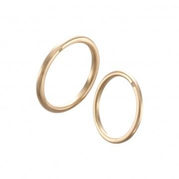アーカーの結婚指輪をお作り頂きました。