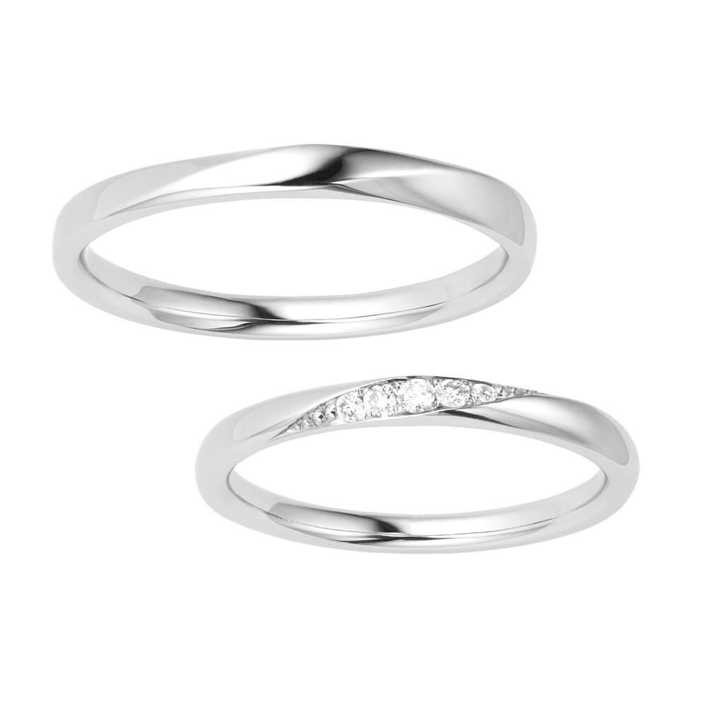 ポンテヴェキオの結婚指輪をお作り頂きました。