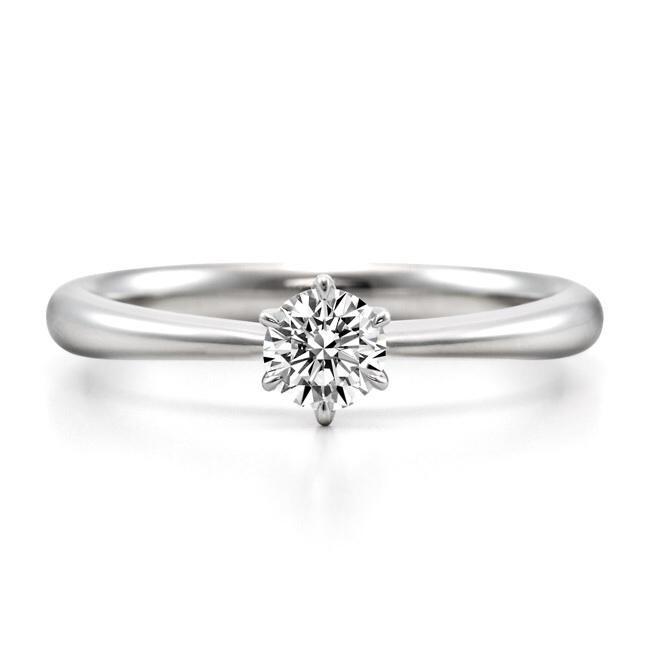 ロイヤルアッシャーダイヤモンドの婚約指輪をお作り頂きました。