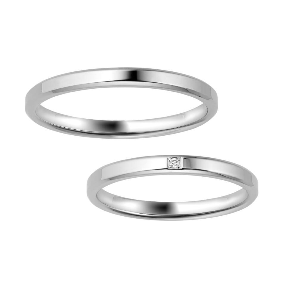 ポンテヴェキオの結婚指輪をお作りいただきました。