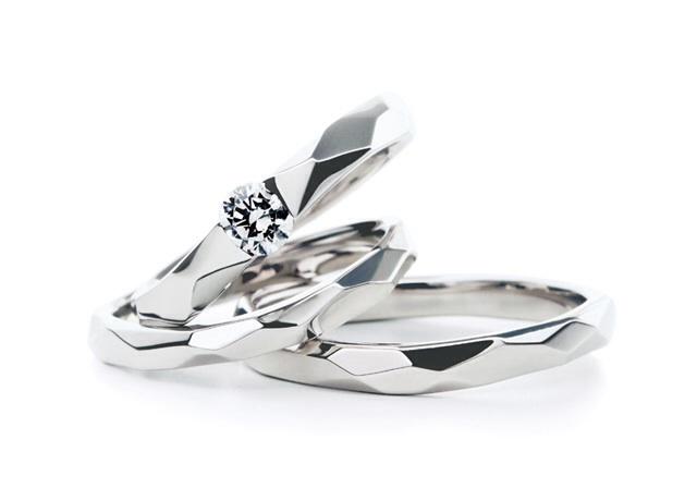 アフラックス・ラブボンドの結婚指輪をお作り頂きました。