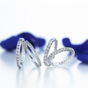 ROYAL ASSCHER DIAMONDの婚約指輪をお選びいただきました。
