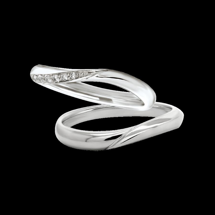 マリアージュの結婚指輪をお作り頂きました