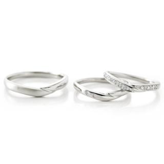 カフェリング の結婚指輪をお作り頂きました。