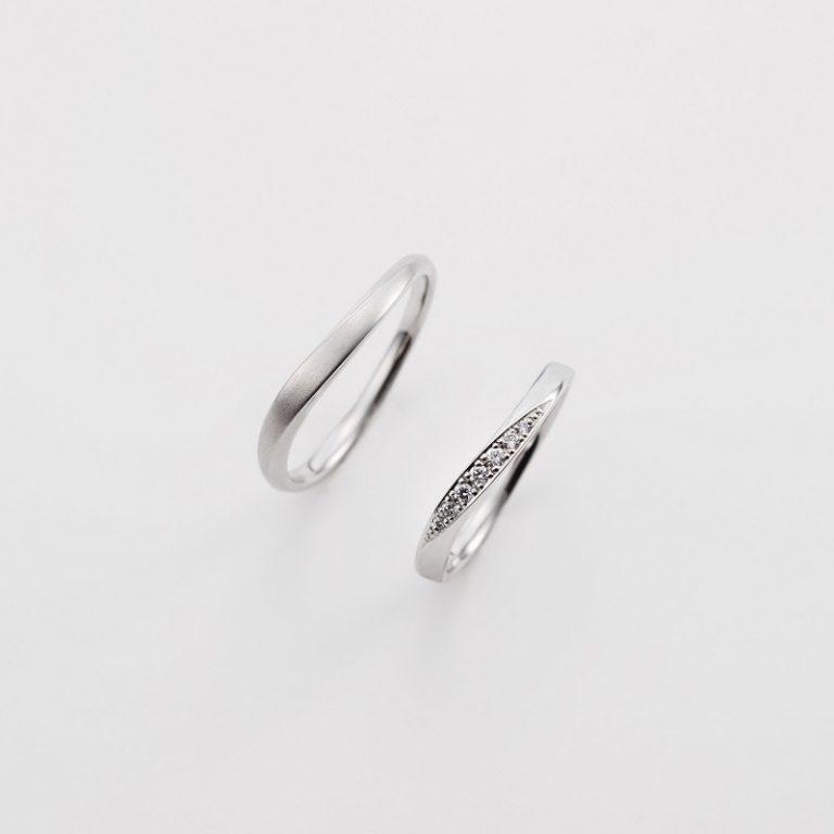 Ba-3-Mar-ML|ダブルスタンダードクロージング結婚指輪