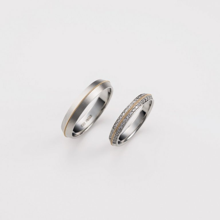 C-1-Mar-ML|ダブルスタンダードクロージング結婚指輪