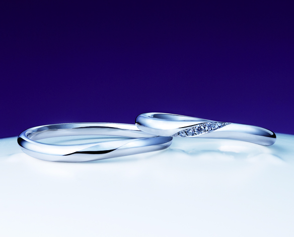 NIWAKAの結婚指輪をお作り頂きました