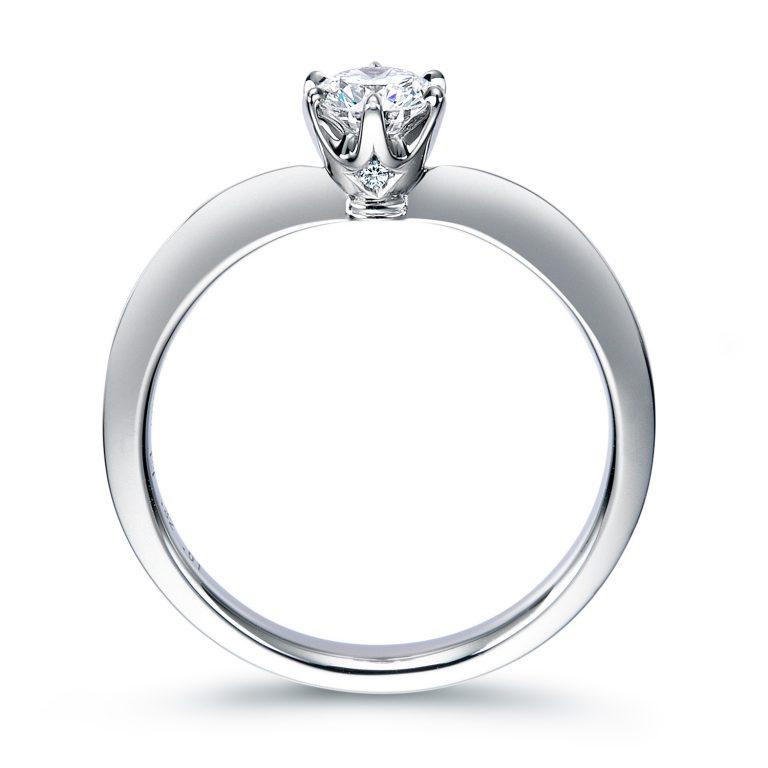 ERA809|ロイヤルアッシャー婚約指輪