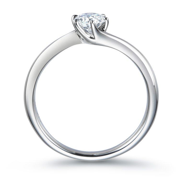 ERA318|ロイヤルアッシャー婚約指輪