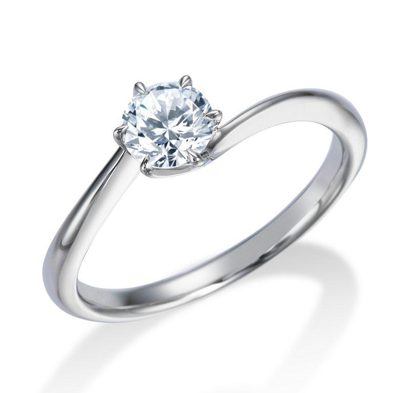 ERA318 ロイヤルアッシャー婚約指輪