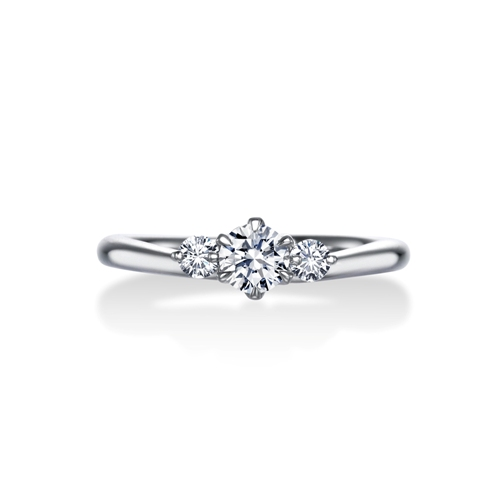 ERA683|ロイヤルアッシャー婚約指輪