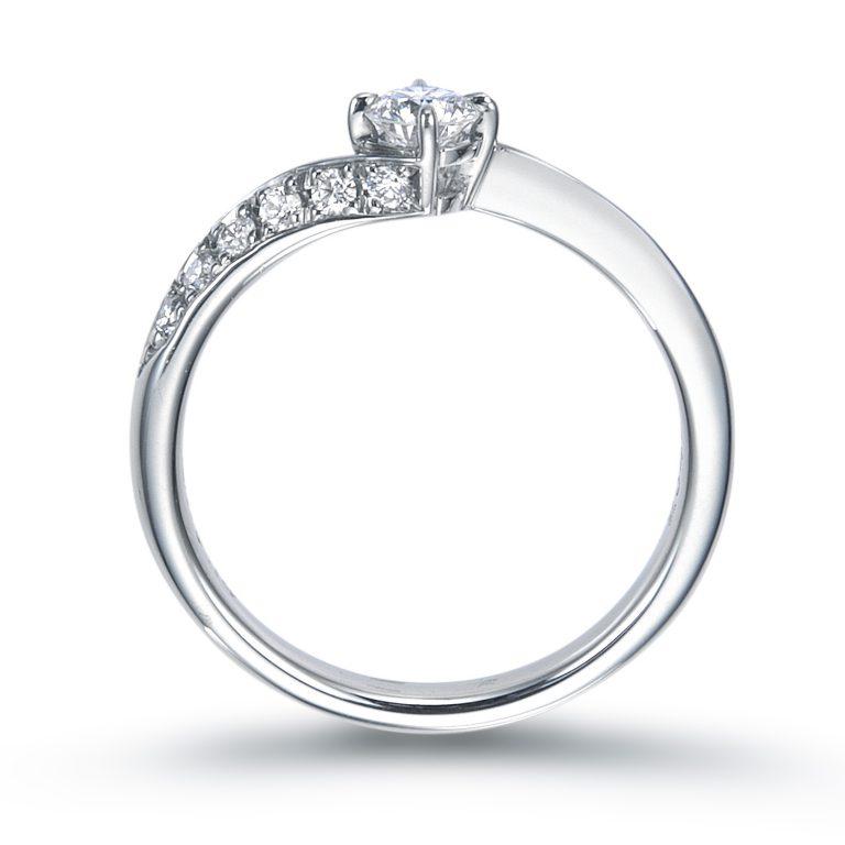 ERA685|ロイヤルアッシャー婚約指輪
