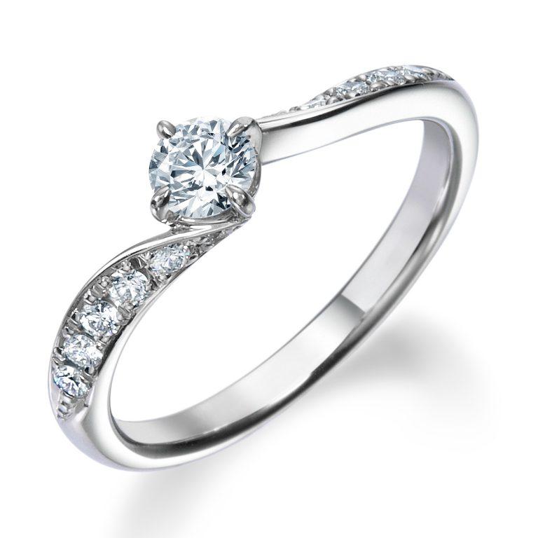ERA685 ロイヤルアッシャー婚約指輪