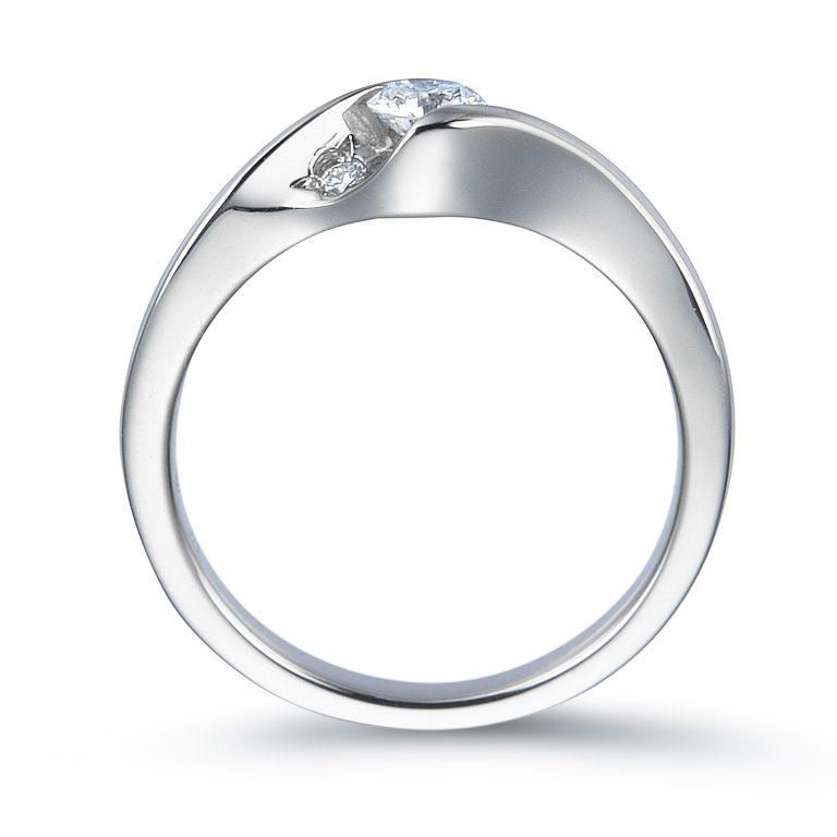 ERA687|ロイヤルアッシャー婚約指輪