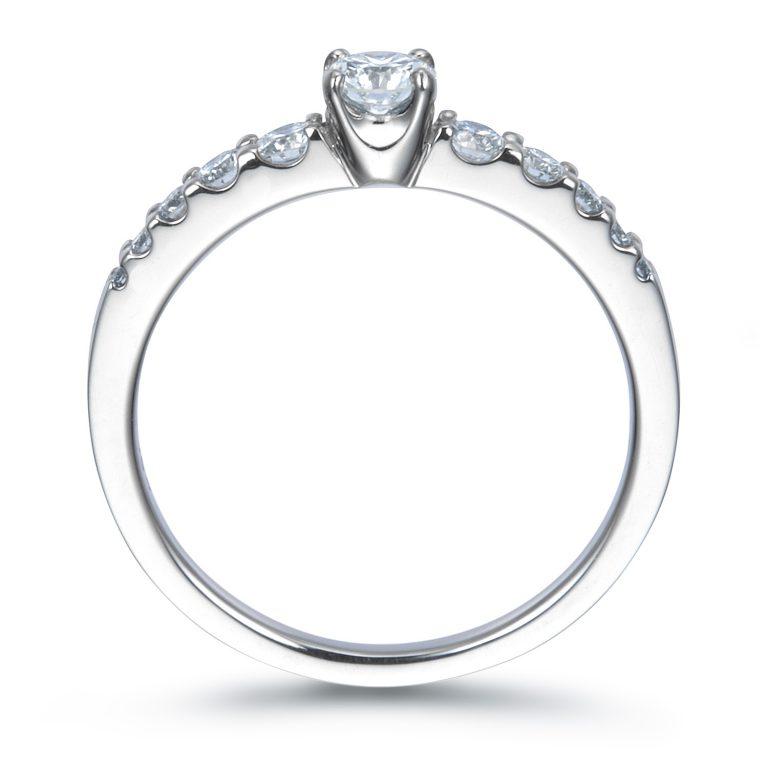 ERA689 |ロイヤルアッシャー婚約指輪