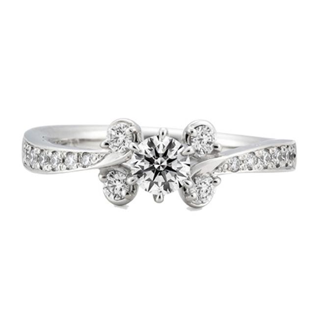 ERA690|ロイヤルアッシャー婚約指輪