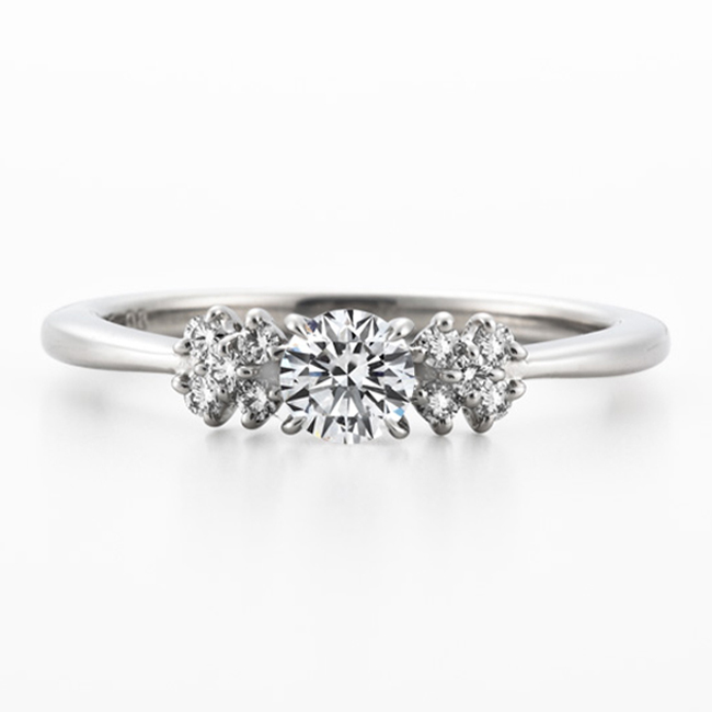 ERA691|ロイヤルアッシャー婚約指輪