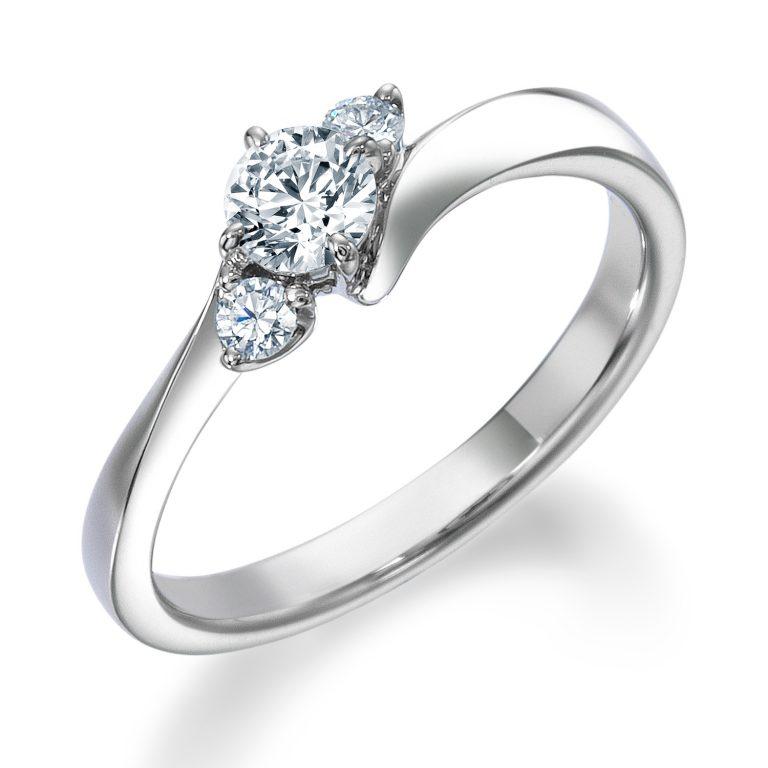 ERA805|ロイヤルアッシャー婚約指輪