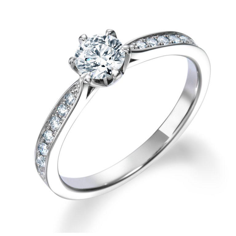 ERA806|ロイヤルアッシャー婚約指輪