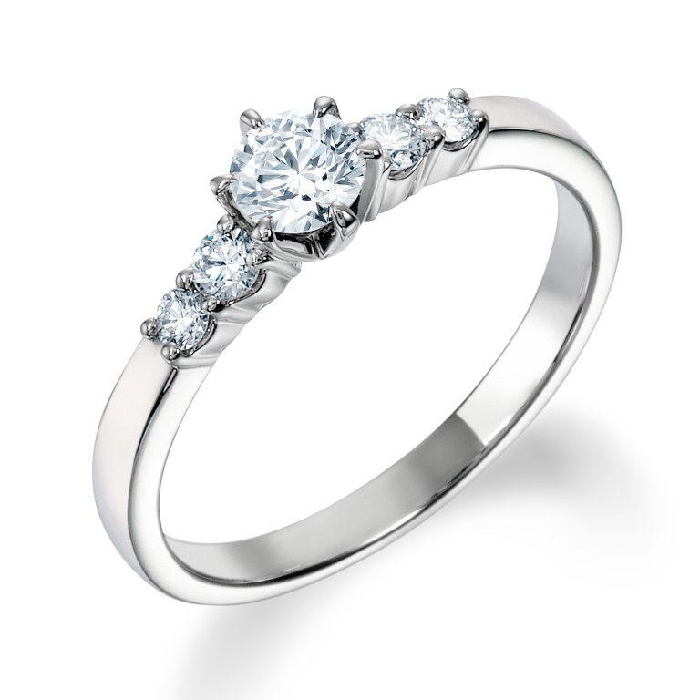 ERA808|ロイヤルアッシャー婚約指輪