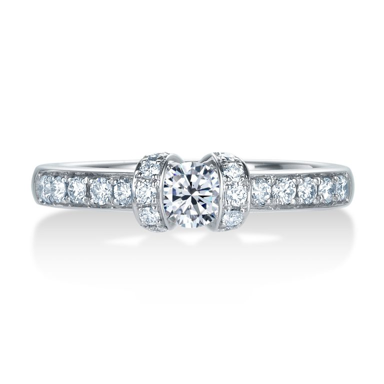 R008|ロイヤルアッシャー婚約指輪