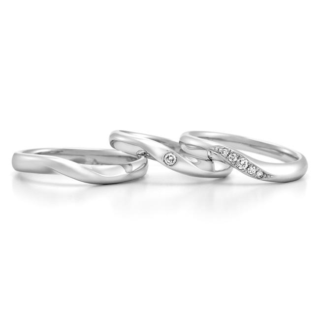 WRA009 WRB035 WRB013|ロイヤルアッシャー結婚指輪