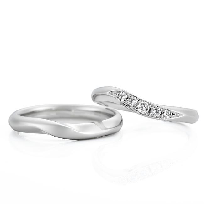 WRA009 WRB045|ロイヤルアッシャー結婚指輪