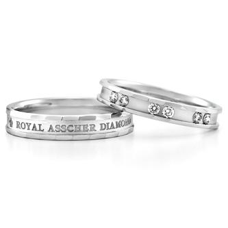WRA024 WRB033|ロイヤルアッシャー結婚指輪