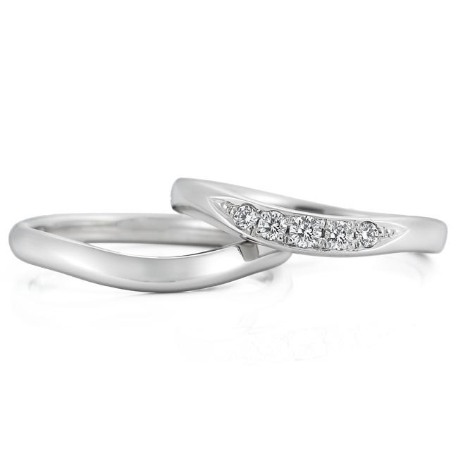 WRA028 WRB046 ロイヤルアッシャー結婚指輪