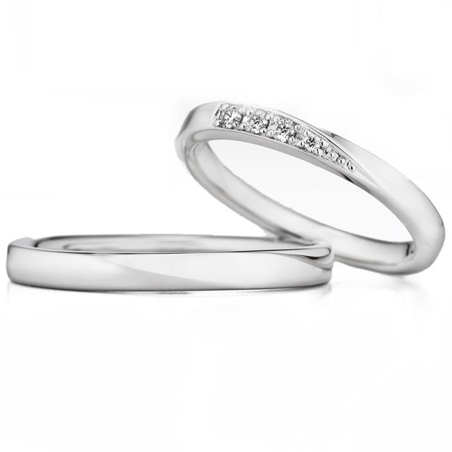 WRA029 WRB039|ロイヤルアッシャー結婚指輪