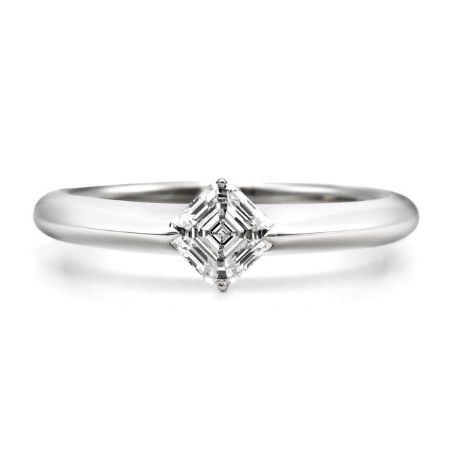 AC004|ロイヤルアッシャー婚約指輪