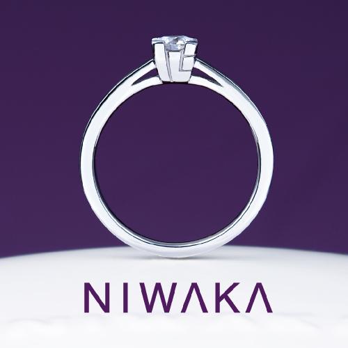 心(こころ)|NIWAKA(にわか) 婚約指輪