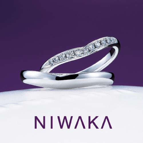 睡蓮|NIWAKA 結婚指輪