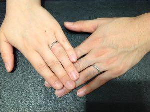 NIWAKA(ニワカ)の結婚指輪をお作り頂きました