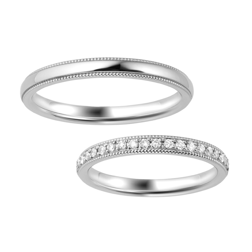 ポンテヴェキオの結婚指輪をお作り頂きました