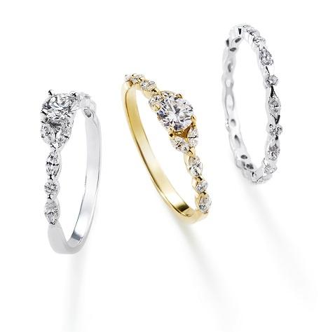 トランスペアレントリング|AHKAH(アーカー) 婚約指輪
