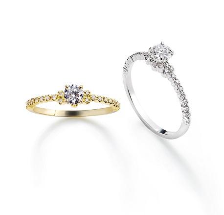 アムールエンゲージリング AHKAH(アーカー) 婚約指輪