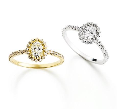 ビリーブインオーバルリング|AHKAH(アーカー) 婚約指輪