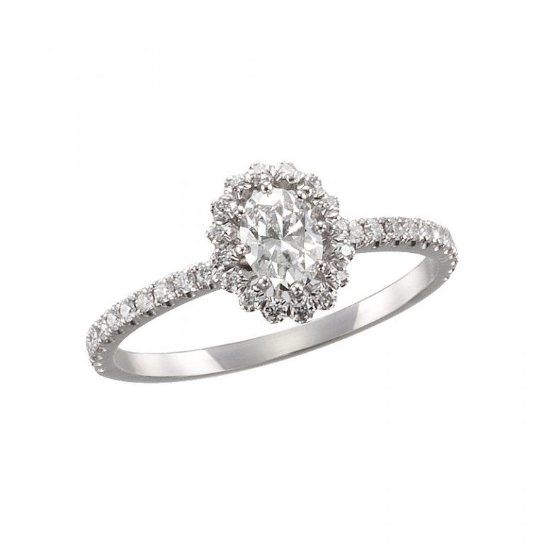 ビリーブインオーバルリング AHKAH(アーカー) 婚約指輪