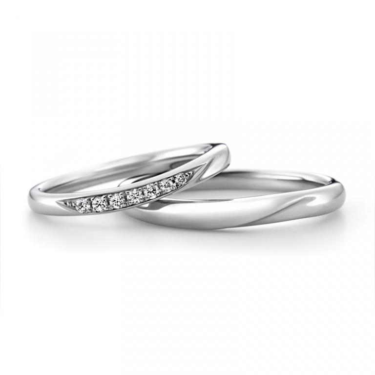 LD530PRL LD530PRM|ラザールダイヤモンド 結婚指輪