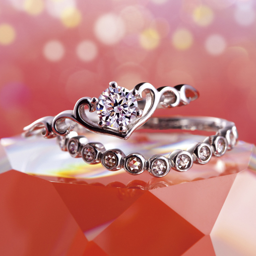 Ccatherine(キャサリン)|Tiara(ティアラ) 婚約指輪