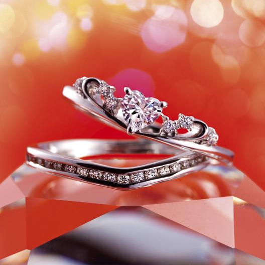 Charlotte(シャルロット)|Tiara(ティアラ) 婚約指輪