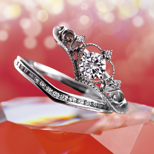 Elizabeth(エリザベス)|Tiara(ティアラ) 婚約指輪