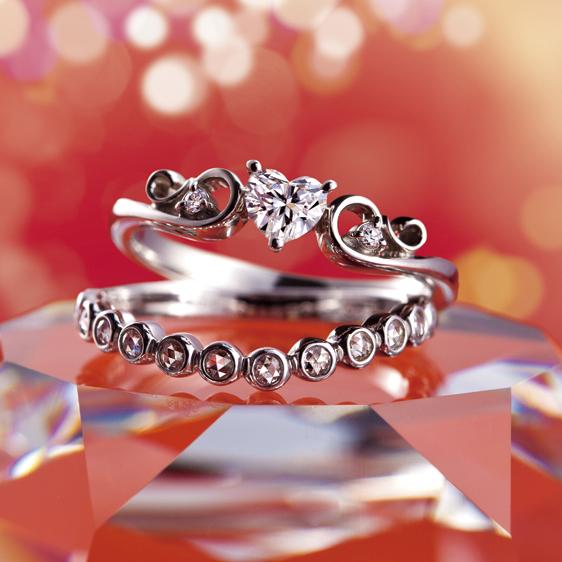 Henritte(ヘンリエット)|Tiara(ティアラ) 婚約指輪