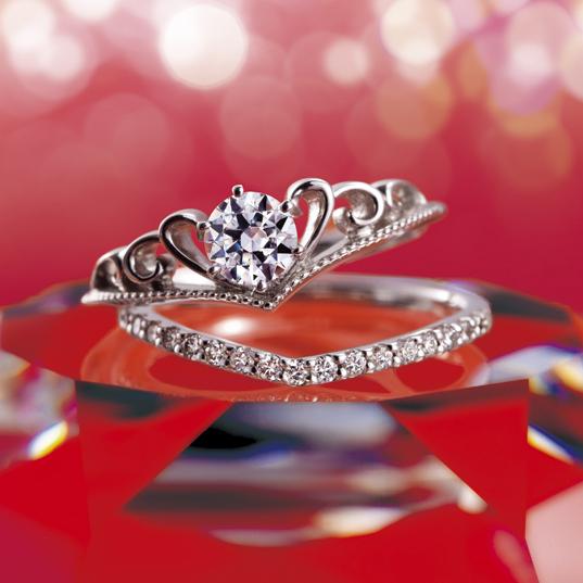 Victoria(ヴィクトリア)|Tiara(ティアラ) 婚約指輪