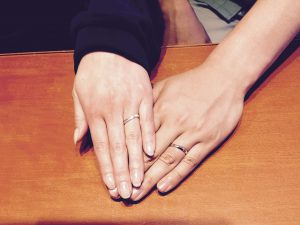 NIWAKA(ニワカ)の結婚指輪をお作りいただきました