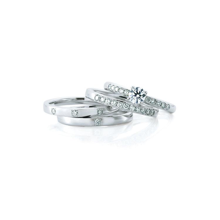 カフェリングのご結婚指輪をお作り頂きました!