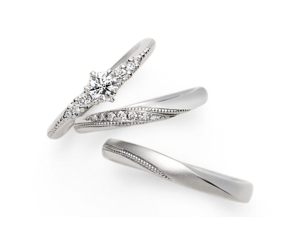 アフラックスのご結婚指輪をお作り頂きました!